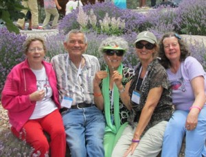 Kathleen Morrow at Young Living Lavender Farm